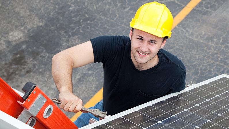godkendt elektriker til solceller