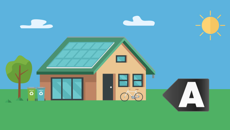 Energimaerke-A-hus